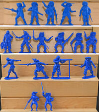 Jecsan - 17th Century French Musketeers - 20 in 17 poses 60mm and 54mm plastic