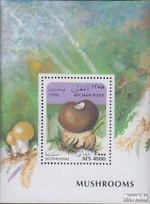 Afghanistan Block86 unmounted mint / never hinged 1996 Mushrooms