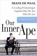 Our Inner Ape de Waal, Frans Hardcover