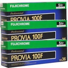 15 Rolls Fujifilm FujiChrome Provia RDP 100F 135-36 Color Slide Film