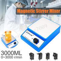 Intllab Magnetisch Rührer Mischer Labor 3000rpm AC 100-240V 3000ML