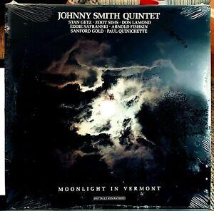 SEALED Johnny Smith LP - Moonlight In Vermont -Stan Getz - DIGITALLY REMASTERED