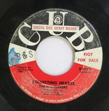 Hear! Doo Wop Promo 45 The Wanderers - Collecting Hearts / Two Hearts On A Windo