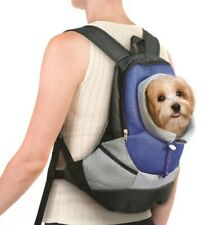 New listing Pet Carrier Backpack Small Dog Cat Adjustable Front Back Travel Holder Carry