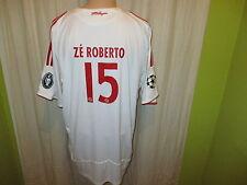 "FC Bayern München Adidas CL.Trikot 2008/09 ""-T---Home-"" + Nr.15 ZÉ ROBERTO Gr.XL"