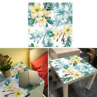Self Adhesive PVC Table Tile Stickers Waterproof Removable Art Decal Wall Decor