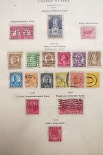 1926~28  US Stamp Very Rare 18 Collectible Scott  Stamps. Attic treasure!