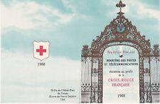 Carnet Croix Rouge 1968 - 8 timbres Non Oblitérés - Muséum Calvet Avignon