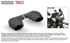GIVI TM421 Cover Hands Mittens Motorcycle With Hand Guards Winter Water
