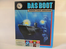 Commodore Amiga Das Boot Computer Game by Three -Sixty!