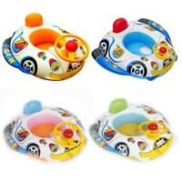 Cute Baby Inflatable Seat Swimming Ring Pool Aid Trainer Beach Float Boat C#P5