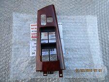 03- 08 TOYOTA COROLLA S XRS MASTER POWER WINDOW SWITCH BEZEL TRIM WOOD GRAIN NEW