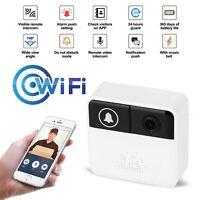 Smart WiFi Video Intercom Doorbell  Two-Way Audio Door Phone Bell With Ring Bell