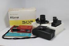 Kiev-303 Subminiature Ukrainian Soviet Rare RED Camera  full set