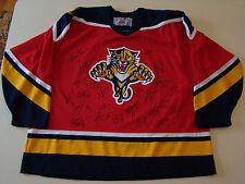 2016/17 Florida Panthers Team Signed Hockey Jersey CCM Size XXL 23 Autographs
