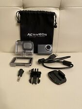 Activeon Solar XG Action Camera With Accessories WORKING IN GREAT CONDITION