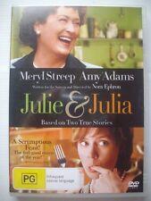 JULIE & JULIA DVD - VGC - Meryl Streep, Amy Adams