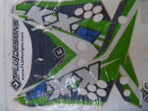 kawasaki kx450f 2006 to 2008 sticker kit decal kit flu designs