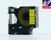 1-36 D1 tape cartridge 45808 black/yellow 19mmx7m for DYMO label manager printer