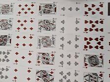 Ellusionist uncut Sheet Of Original LTD Playing Cards RARE