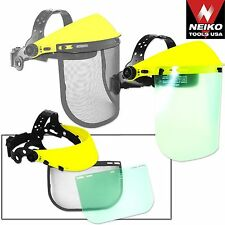 NEIKO 53876A - 2 in 1 Face Protection Safety Shield - New
