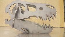 Cráneo de dinosaurio arte del metal