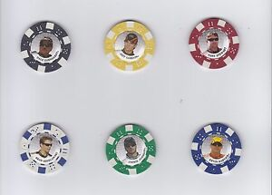 2009 Main Event POKER CHIPS #7 Kevin Harvick BV$4!!! NEAT COLLECTIBLE!