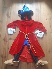 Rare Disneyland Paris Mickey Mouse Fantasia Dressing Up Fancy Dress Costume 5/6