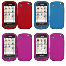 4-pack Silicone Skin Case for Pantech Hotshot 8992 - Red, Blue, Pink x 2