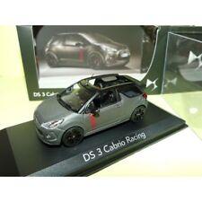 1 43 NOREV Citroen Ds3 Racing Convertible Matt-grey/red