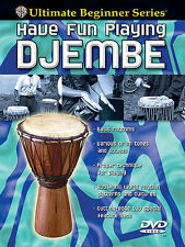Learn How To Play Have Fun Playing Djembe Beginner DVD EASY BEGINNER LESSON