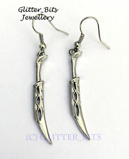 Elven Tauriel Earrings Dagger HOBBIT LOTR Lord Of The Rings Desolation of Smaug