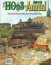 2013 HOn3 ANNUAL: How-To Guide for HO Narrow Gauge - (NEW BOOK)