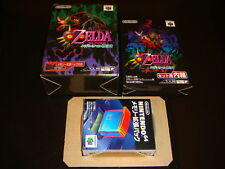 Legend of Zelda : Mujura no Kamen + RAM Pack Set Nintendo 64 Japan