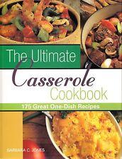 THE ULTIMATE CASSEROLE COOKBOOK 175 GREAT ONE DISH RECIPES JONES BRUNCH, PASTA