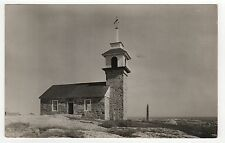 Rare 1937 ISLES OF SHOALS New Hampshire RPPC Real Photo Postcard NH Isle MAINE