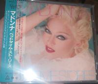 MADONNA Bedtime Stories OBI 1994 OOP CD Japan WPCR-111