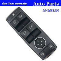 Front Door Master Window Switch 2049055302 For Mercedes C W204 E W212 GLK X204