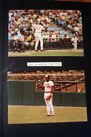 4 One of a Kind 1985 4x6 Orioles Photos, Singleton (2) Cal Ripken Sr., Roenick,