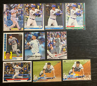 Corey Seager Lot Lot(10) Topps Los Angeles Dodgers