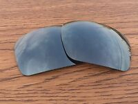 Inew Black Iridium polarized Replacement Lenses for Oakley Triggerman