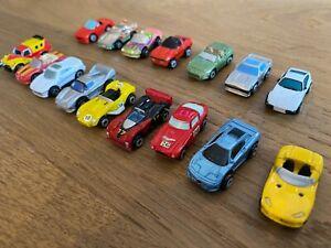 Micro Machines 16 x Job Lot Cars Mix of Sports Car/Sedan/4x4 Ferrari Dodge Viper