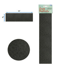 Leather 10� x 2� Strip, 1 Piece, Black For create Jewelry