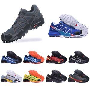 2020 Uomo Salomon Speedcross 4 Athletic Running Sports Outdoor Hiking Shoes NEW