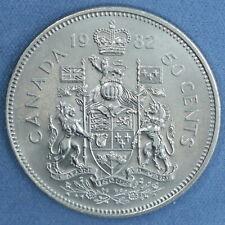 Canada - 1982 Nickel Half Dollar (50 Cents) - High Uncirculated Grade