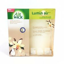 Air Wick Luminair Scented Oil Flameless Candle ~ Vanilla Passion NEW