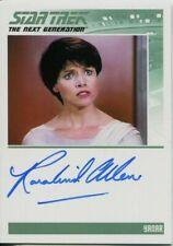 Star Trek TNG Portfolio Prints Series 2 Autograph Rosalind Allen