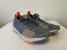 New listing Adidas PulseBoost HD LTD Running Shoes Flash Orange Grey G26989 Mens Size 11.5