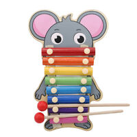 Wood Kids Educational Baby Xylophone Eight-Tone Piano Early Musical Funny Toys