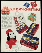 1979 Snoopy Peanuts backpack plush toy suitcase photo Carson Pirie Scott ad